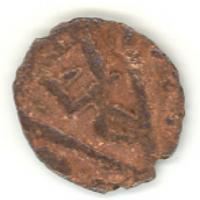 Монета с тамгой Дома Бату.