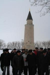 Рустам Минниханов посетил в Болгаре объекты строительства и реставрации